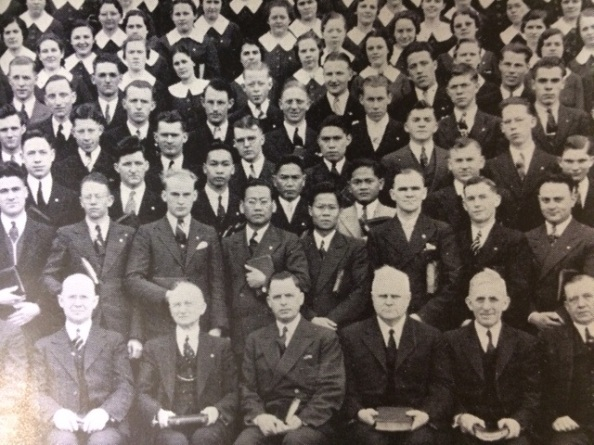 1938 Senior Class, Northwest University Archives.