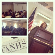 VP B. Bergano of FANHS Seattle